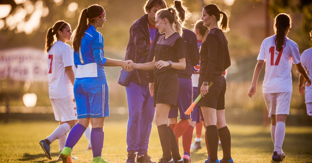 Youth athletes engage in the Fair Play system